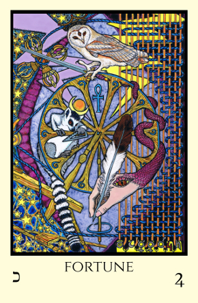 Fortune Tabula Mundi Tarot color version