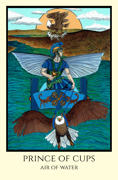Image result for prince of cups rosetta tarot