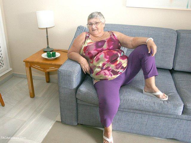 GrandmaLibby - New Purple Outfir