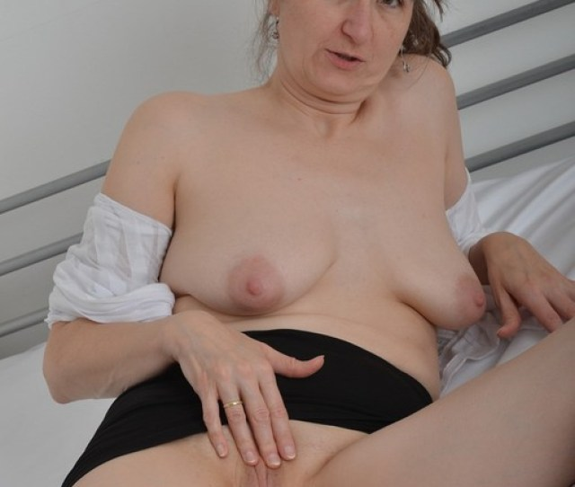 Hotmilf Blouse Skirt Bare Pussy Free Pic 3