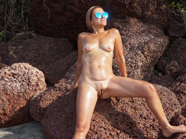 DianaAnanta - Nudist Beach