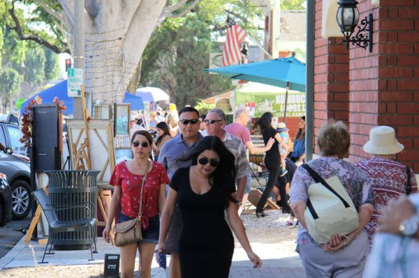 Tustin Art Walk 2018 - Area Council Of Fine Arts