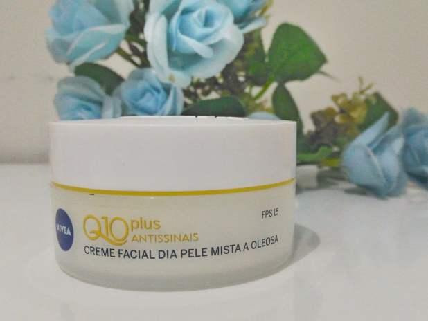 Creme facial nívea Q10