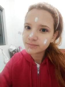 Creme facial nívea Q10 na pele