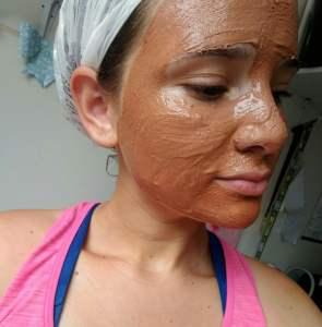 Máscara facial de Argila rosa