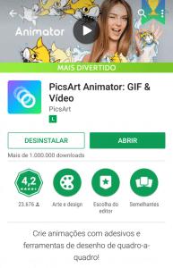 Aplicativo Animator