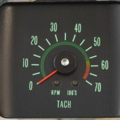 Auto Gauge Tachometer Wiring Diagram Immersion Switch Chevy Truck Impala Oldsmobile Nova Repair Restoration