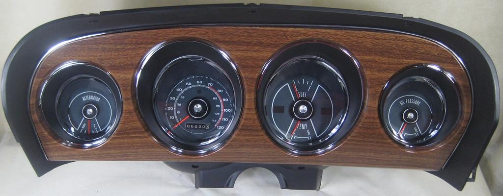 1970 Colorized Mustang Wiring Vacuum Diagrams