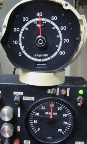 1966 Wiring Diagram Tachometer Repair Restoration For 1971 1972 1973 Mustang