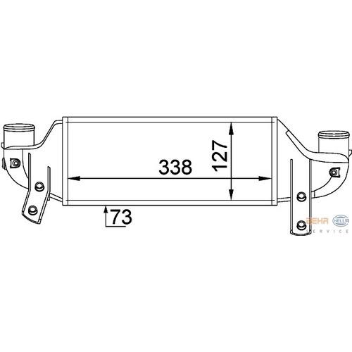 Intercooler Ford Fiesta IV 1.8 TDCi XS4Q9L440AA