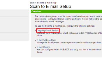 Scan to Email with Office 365 using a Multi-function Printer