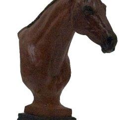 Kitchen Table Base Custom Thoroughbred Hunter Horse Bust Sculpture