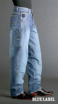 Cinch Blue Label Mens Carpenter Jeans