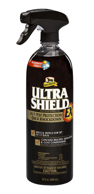 Absorbine UltraShield Brand Residual Insecticide  Repellent