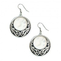 Montana Silversmiths Prairie Under A Full Moon Earrings