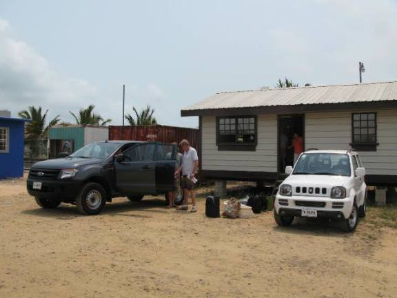 belize rental car