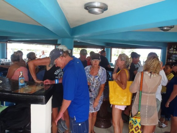pool bar and grill at grand caribe resort belize