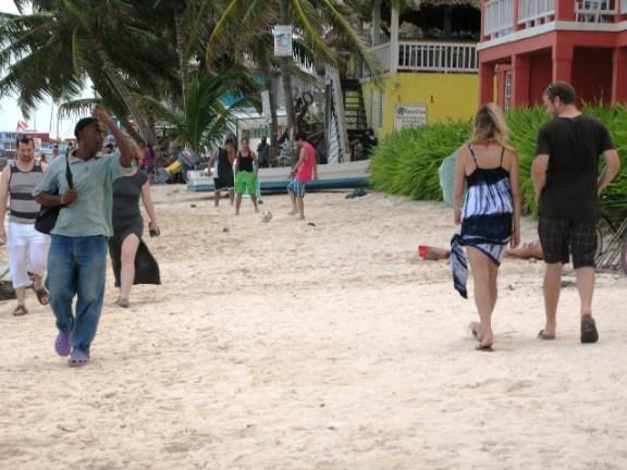 downtown san pedro belize beach