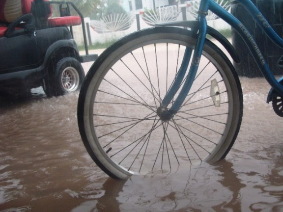 San Pedro Belize weather brings the rainy season.