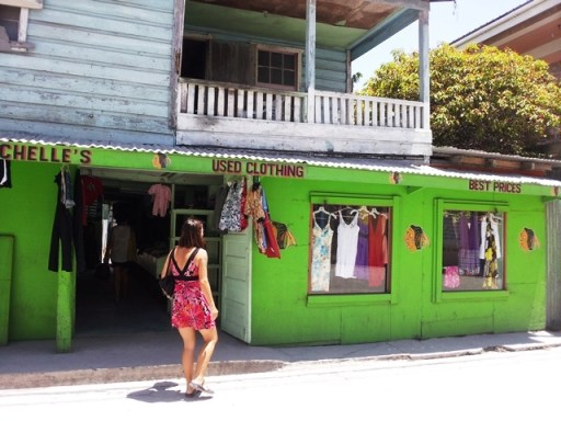 second hand shopping in belize