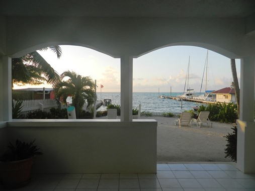 beachfront condo belize