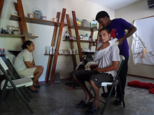 firstaid course with belize red cross