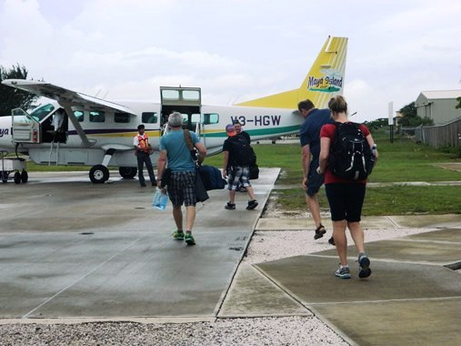 maya air belize