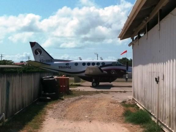 king air new tropic air plane