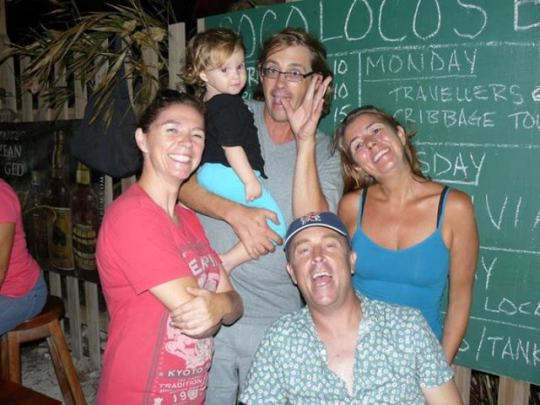 coco locos beach bar north ambergris caye belize