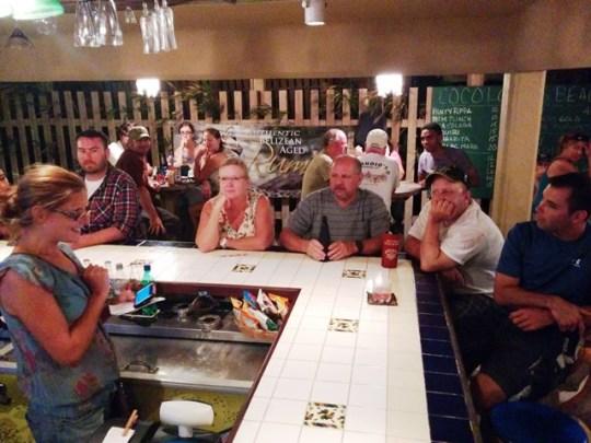 coco locos beach bar belize