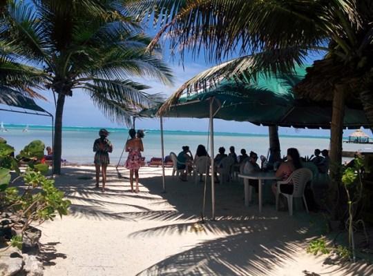 san pedro lobster festival  event at caribbean villas hotel
