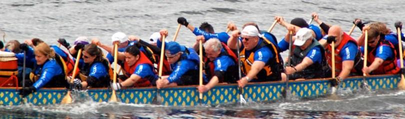 Photo of paddling
