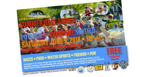 Graphic of Kenmore Summer Race Series