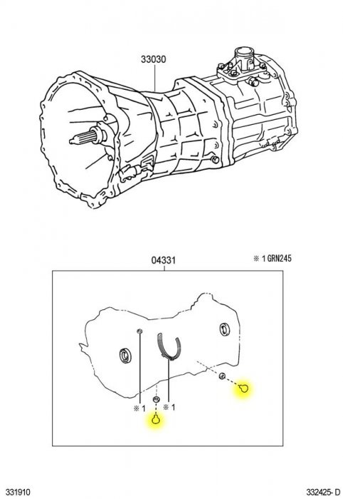 Transfer Case, Manual transmision and differentials
