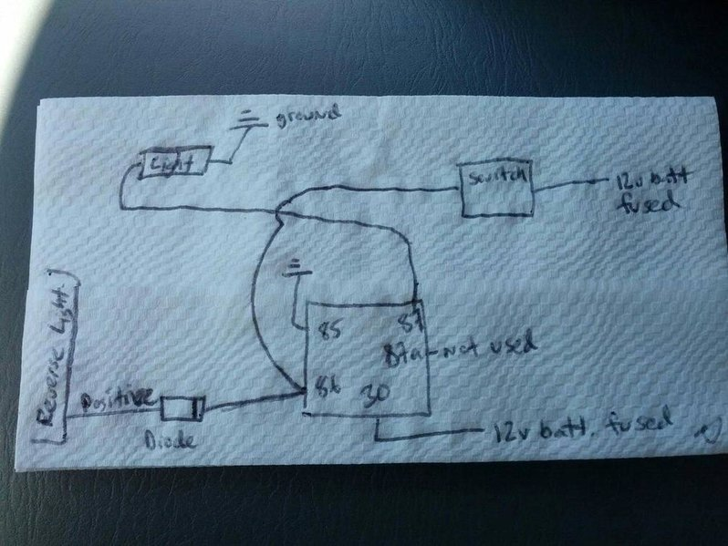 3 way switch diagram 2 lights sbc 350 wiring extra reverse to and preexisting | tacoma world