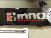 FOR SALE: Inno Universal Roof Rack Fairing (40 inch) New