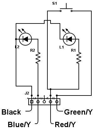 DIY convert aironboard push button switch for fog light