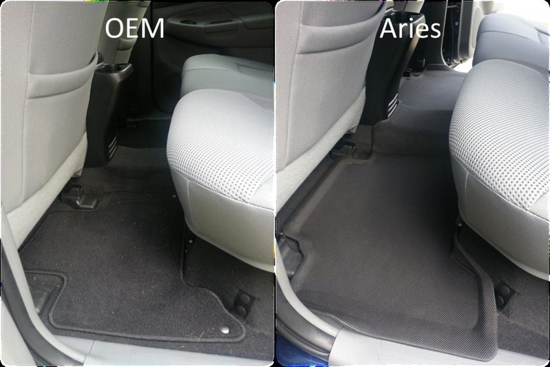 Aries 3D Floor Liners  Product Review  Tacoma World