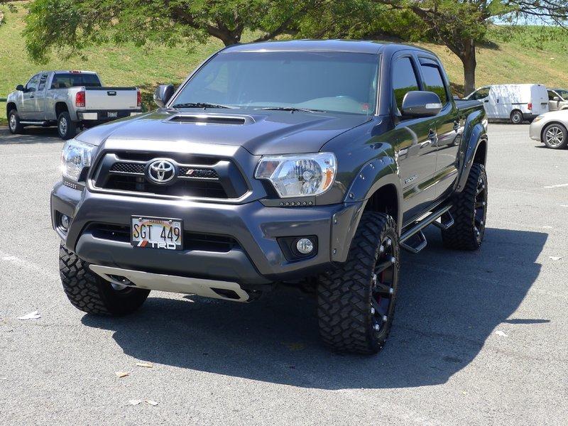 2014 Side Tacoma Bars Step Toyota