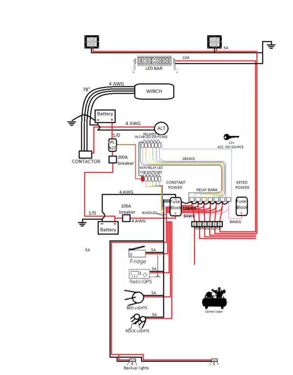 rockford t1 wiring diagram how do you draw a family tree nate's build | page 4 tacoma world