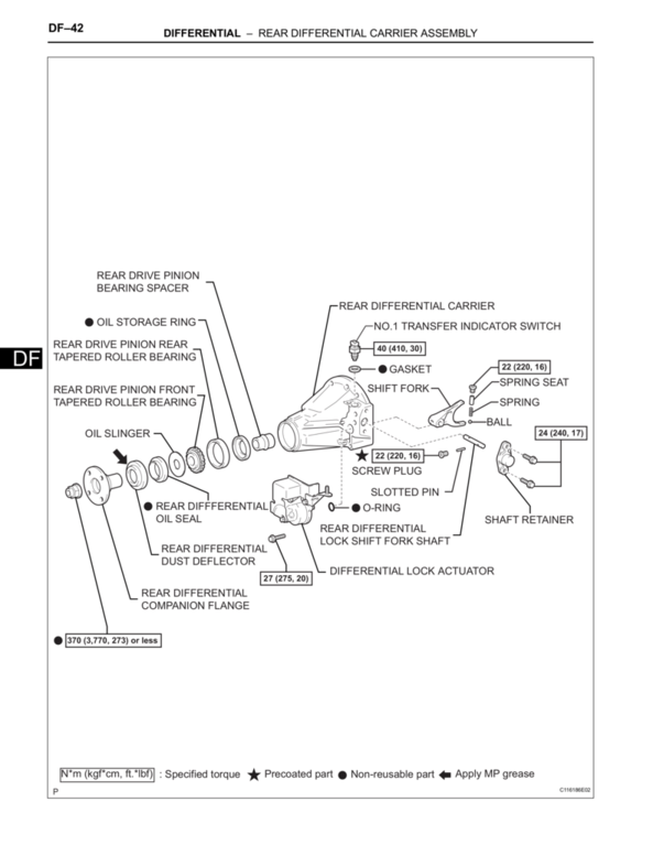 2006 Toyota Tacoma V6 Transmission Diagram