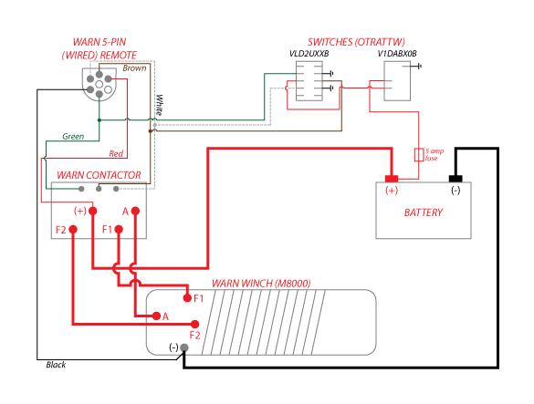 Warn Winch Wiring Diagram Xd9000 - Somurich.com on