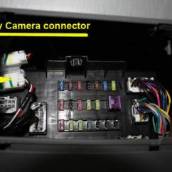 2016 Toyota Tundra Radio Wiring Diagram 2000 Gmc Jimmy Oem Camera Connection Below Dash | Tacoma World