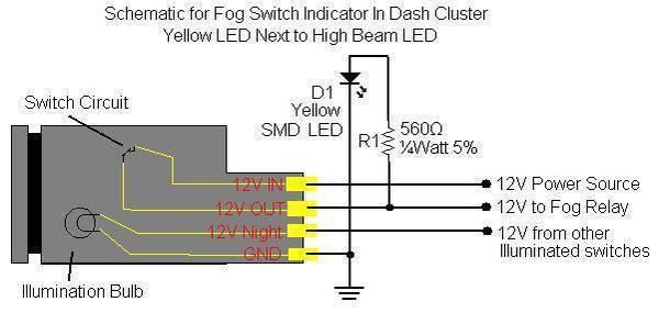 Anti Vandal Switch Wiring Diagram Led Fog Light Switch Wiring Tacoma World