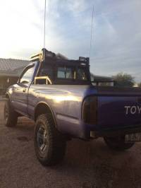 The headache/roof rack i have built on my tacoma(check it ...