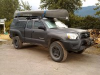 Access Cab with Roof Rack for a Kayak?
