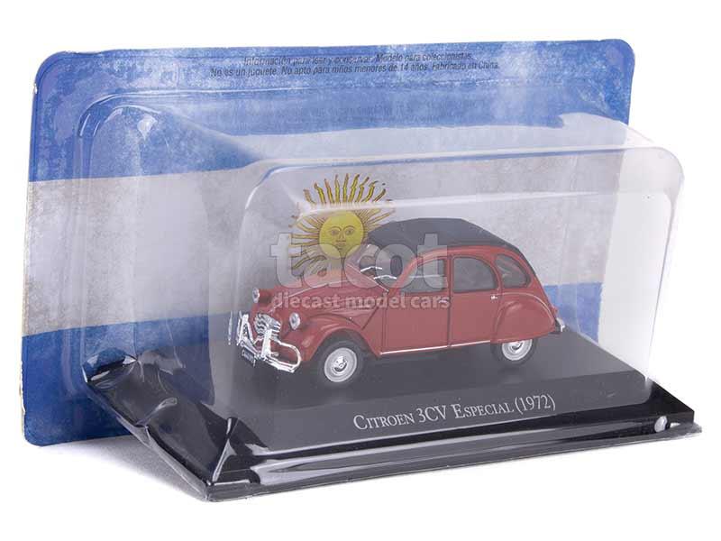 citroen 3cv especial argentina 1972