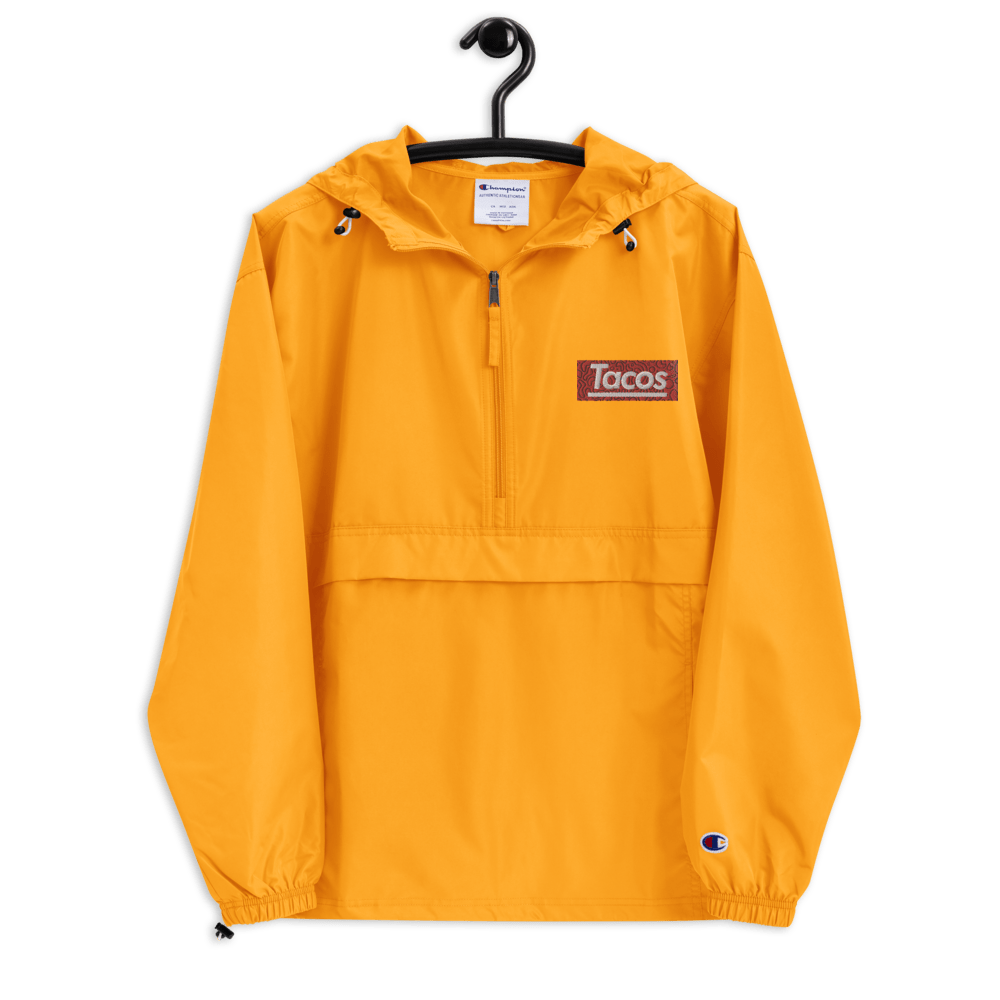 Taco Supreme Embroidered Champion Packable Jacket