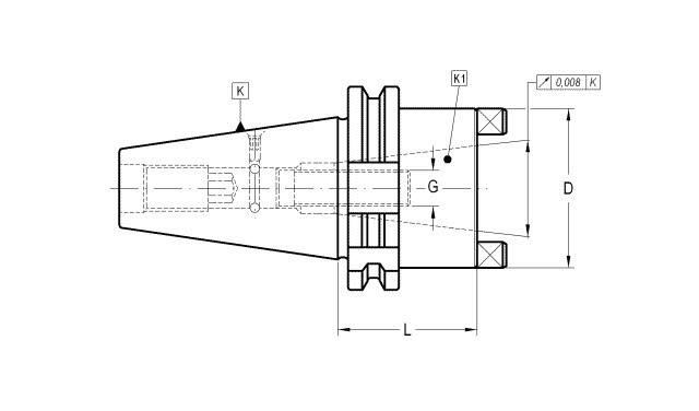 Steep Taper (MAS 403 BT) to Steep Taper (DIN 69871) Adapters