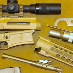 DRD Tactical Kivaari 300 Norma Magnum rifle disassembled
